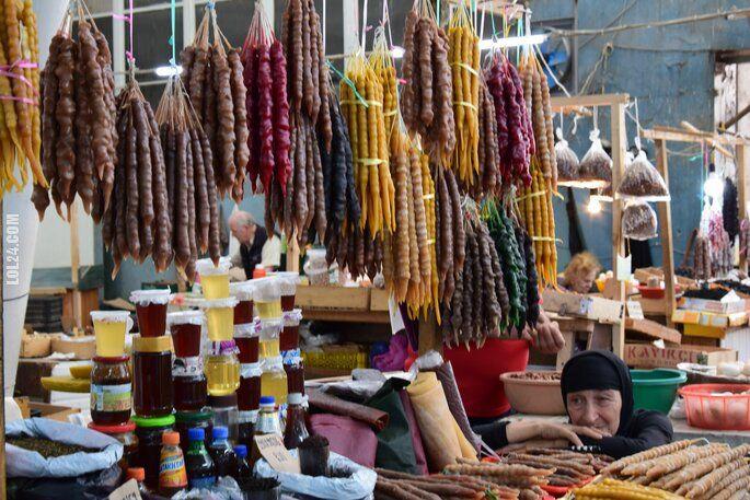 inne : Na bazarze w Kutaisi