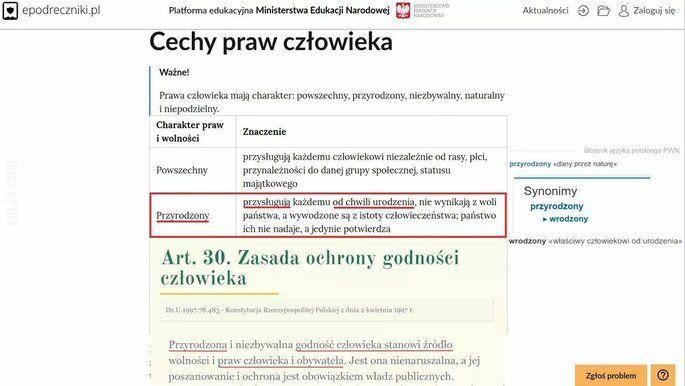 polityka : Pst, nie pokazujcie PiSowi i jego specom od konstytucji, bo jeszcze nam słownik zmienią.