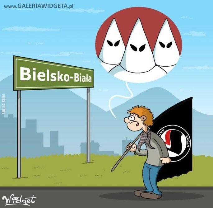 rysunek : Bielsko-Biała