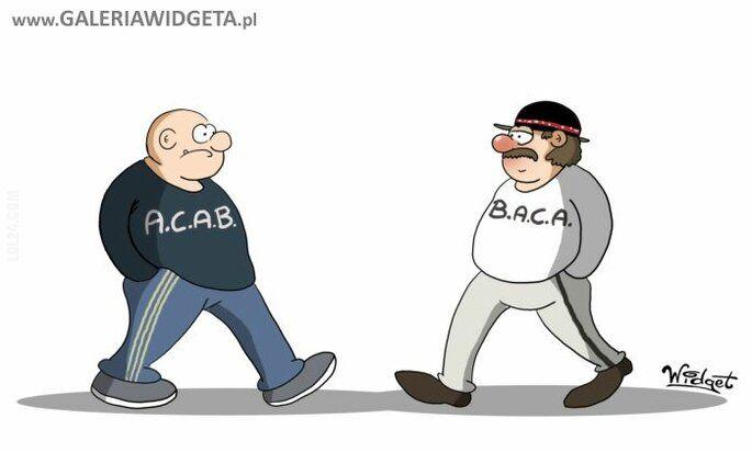 rysunek : ACAB