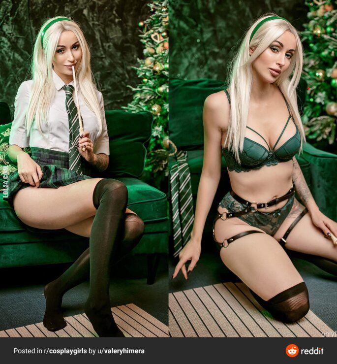 erotyka : Slytherin girl