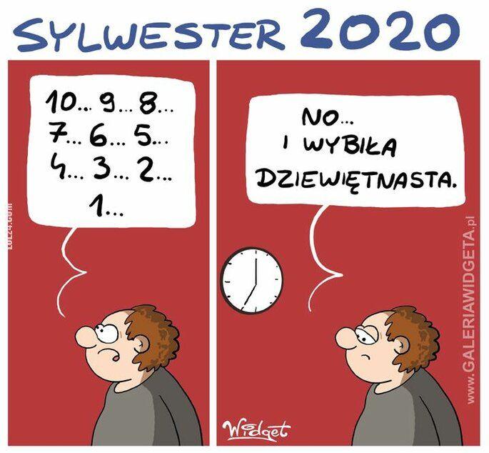 satyra : Sylwester 2020