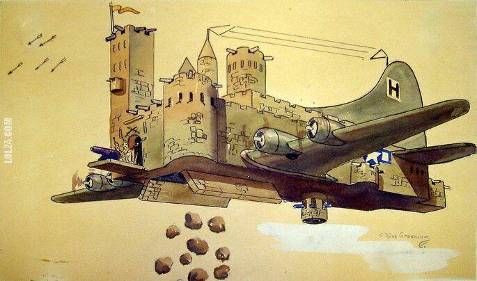 rysunek : Latająca Forteca