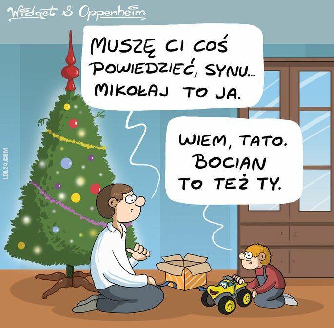 rysunek : Tata i syn