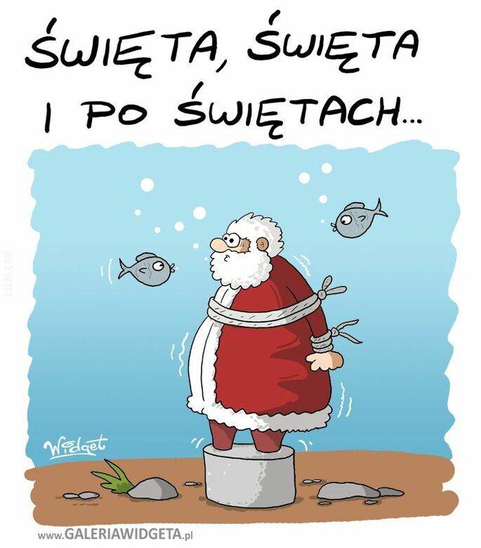 rysunek : Święta, święta i po...