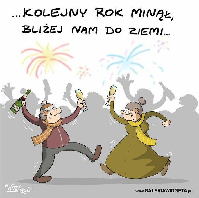 rysunek : Nowy Rok