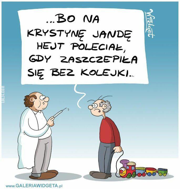 rysunek : Krystyna Janda