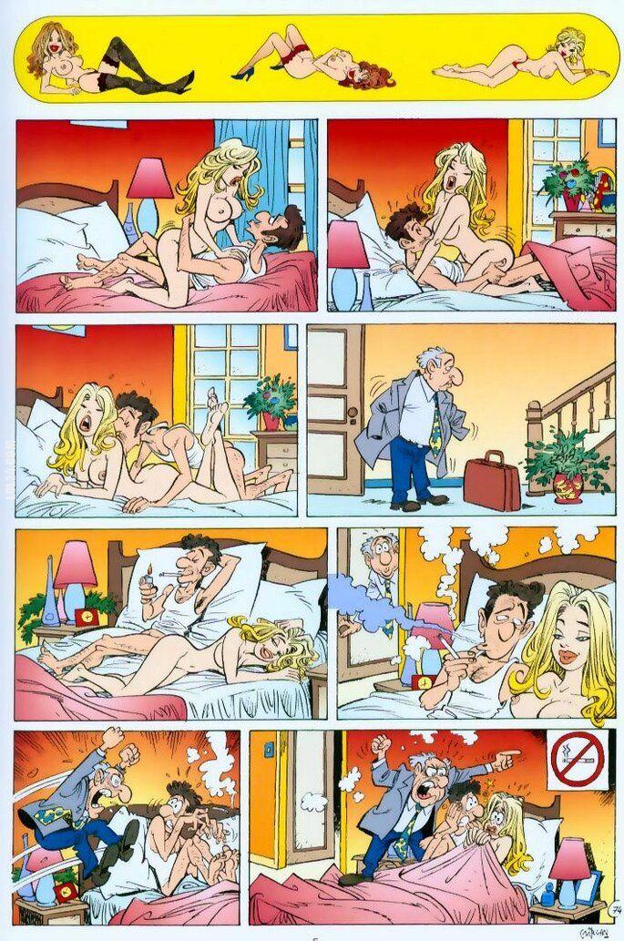 komiks : Zakaz Palenia