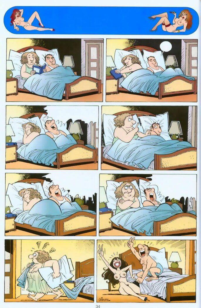komiks : Pomysłowy mąż