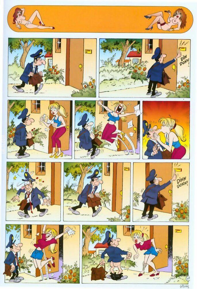 komiks : Listonosz zawsze...