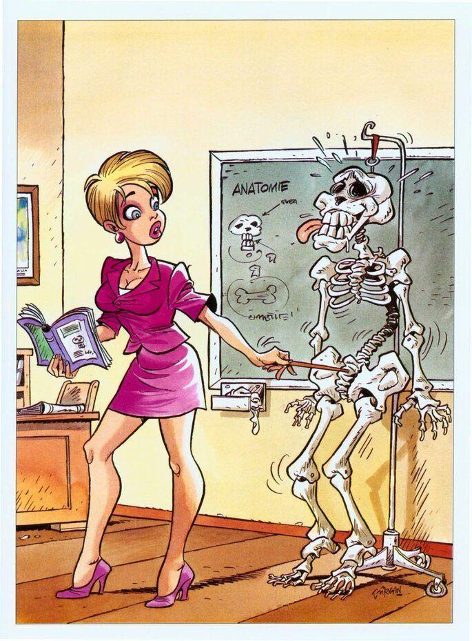 komiks : Radosny szkielet