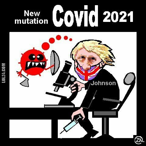 satyra : Covid new mutation satire