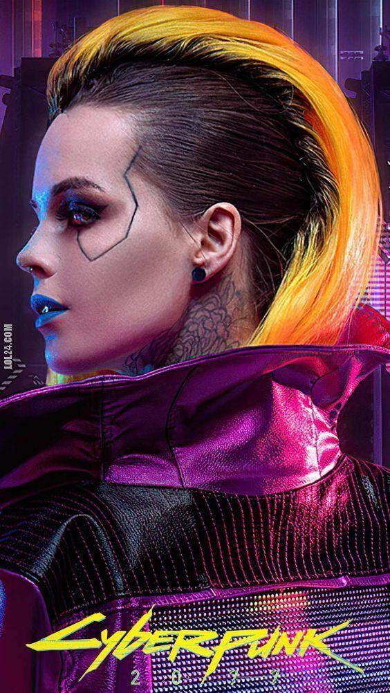 urocza, słodka : Cyberpunk 2077.