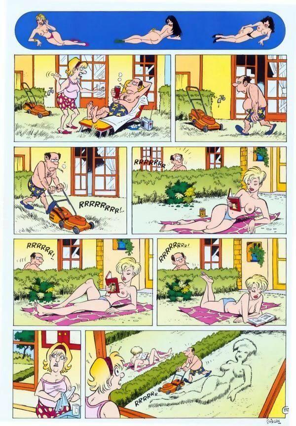 komiks : Trawniczek
