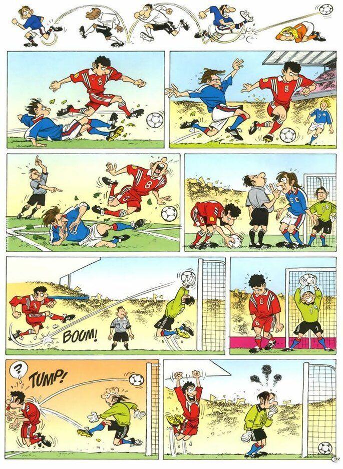 komiks : Gol!