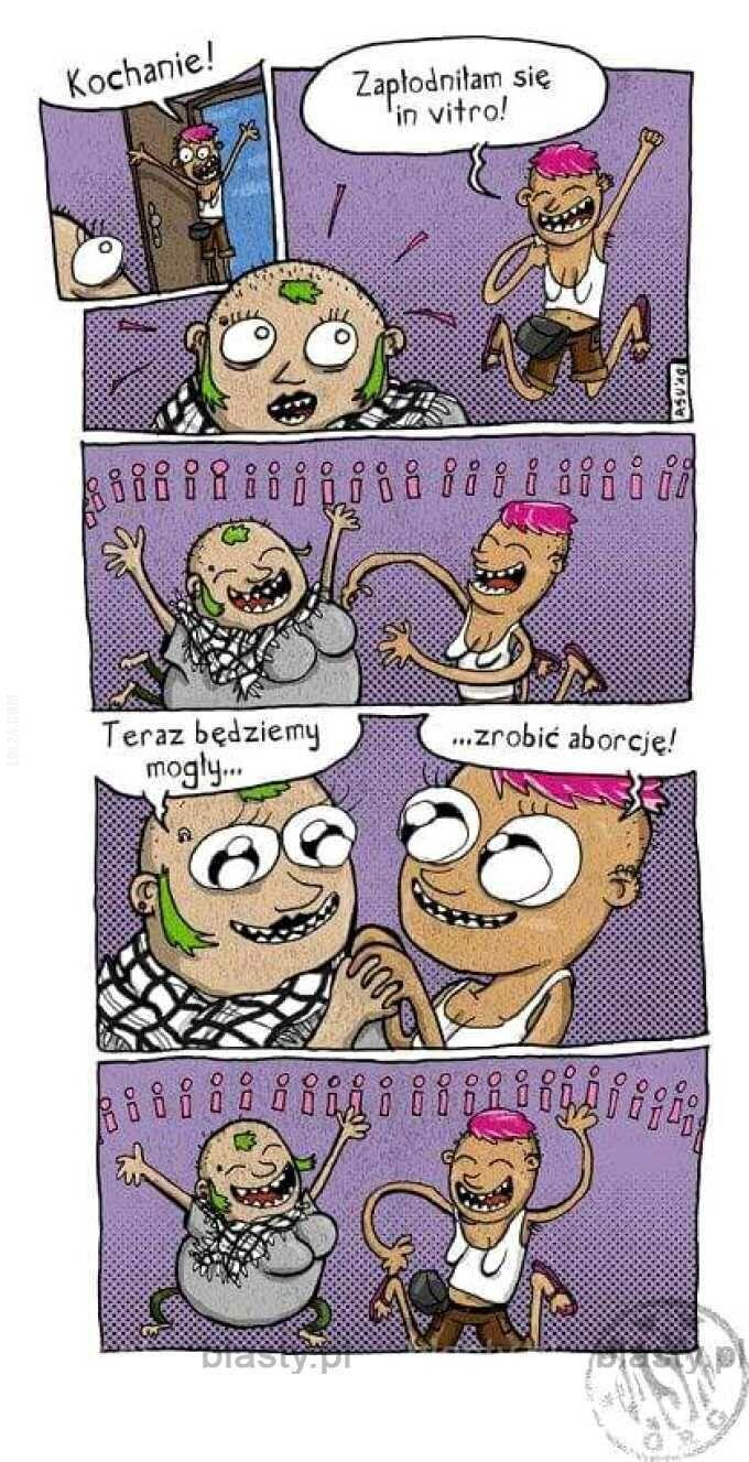 komiks : Kochanie, zapłodniłam się