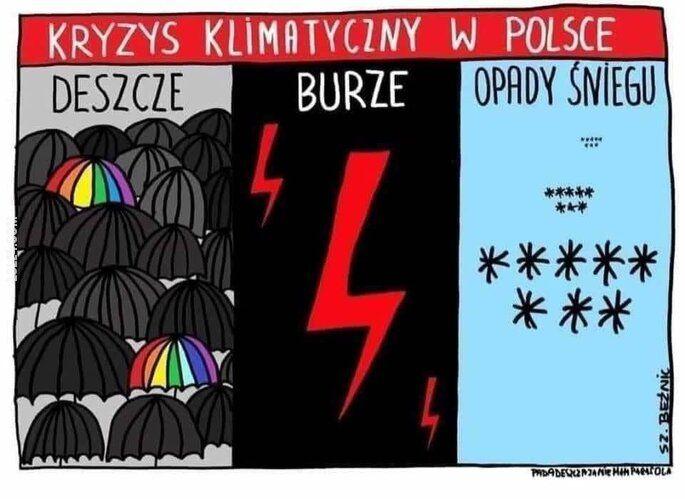 mem : Kryzys klimatyczny w Polsce