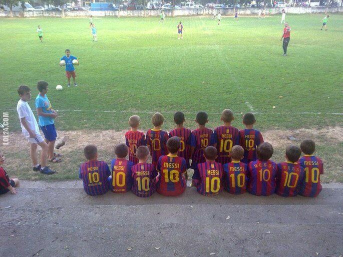 sport : Wspólny idol - Messi