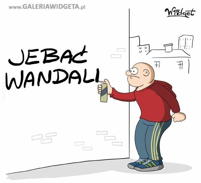 rysunek : Wandalizm