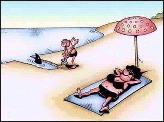 mężczyzna : Szczęściu trzeba pomóc.
