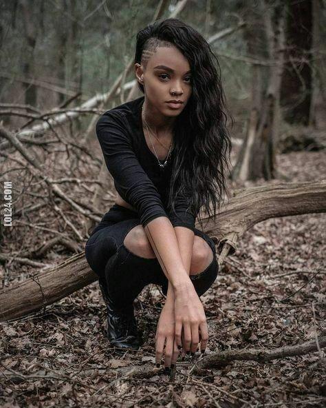 kobieta : Czarnoskóra Piękność