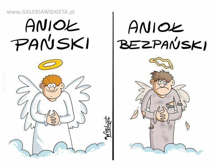 rysunek : Anioł Pański