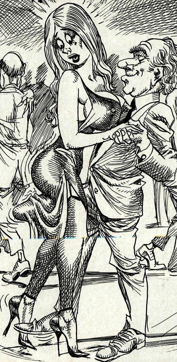 komiks : Taniec przytulaniec