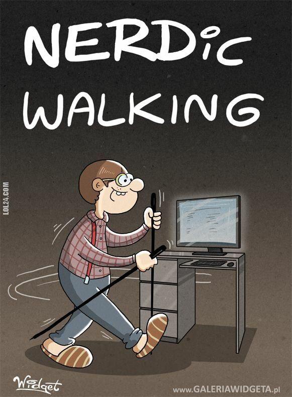 satyra : Nerdic walking
