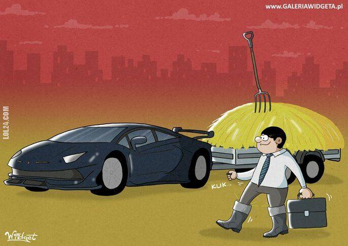 inne : Koleś i samochód