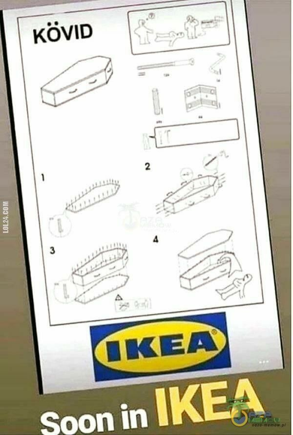 rysunek : Na czas pandemii IKEA poleca: