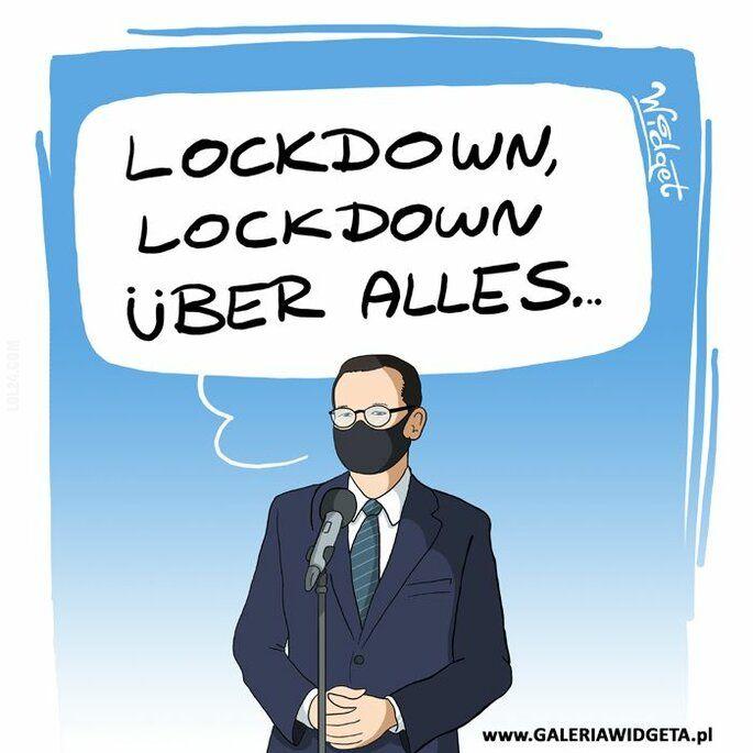 komiks : Lockdown, lockdown...