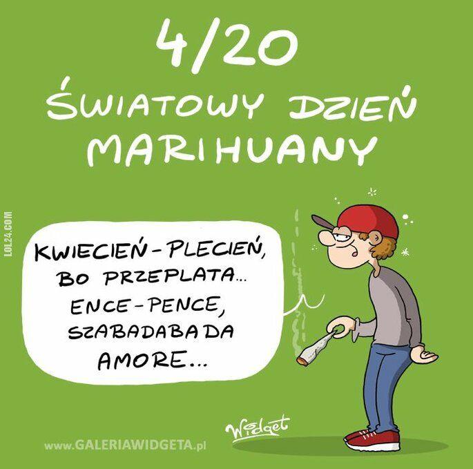 rysunek : Międzynarodowy Dzień Marihuany