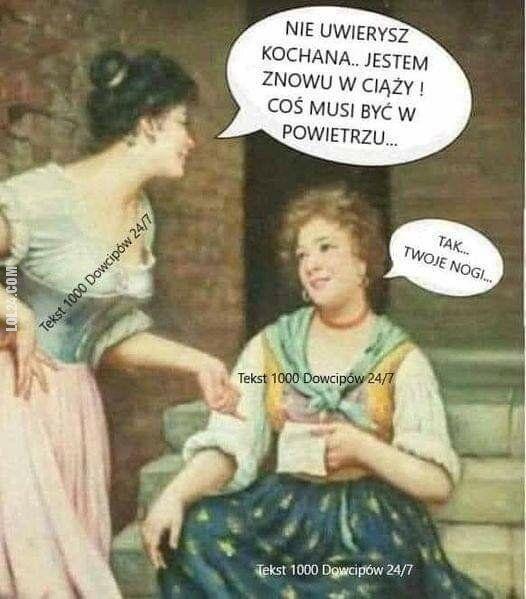 kobieta : Jestem.......