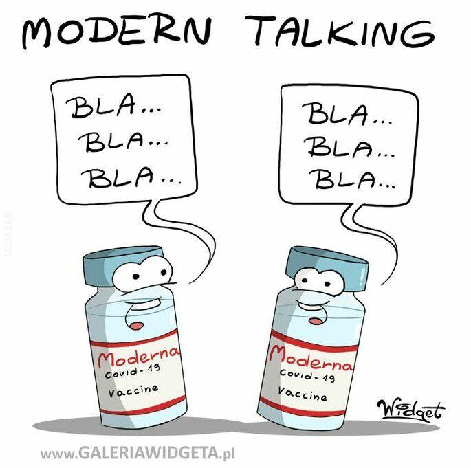 satyra : Modern Talking