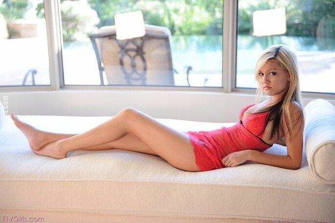 kobieta : Piękna Alexa
