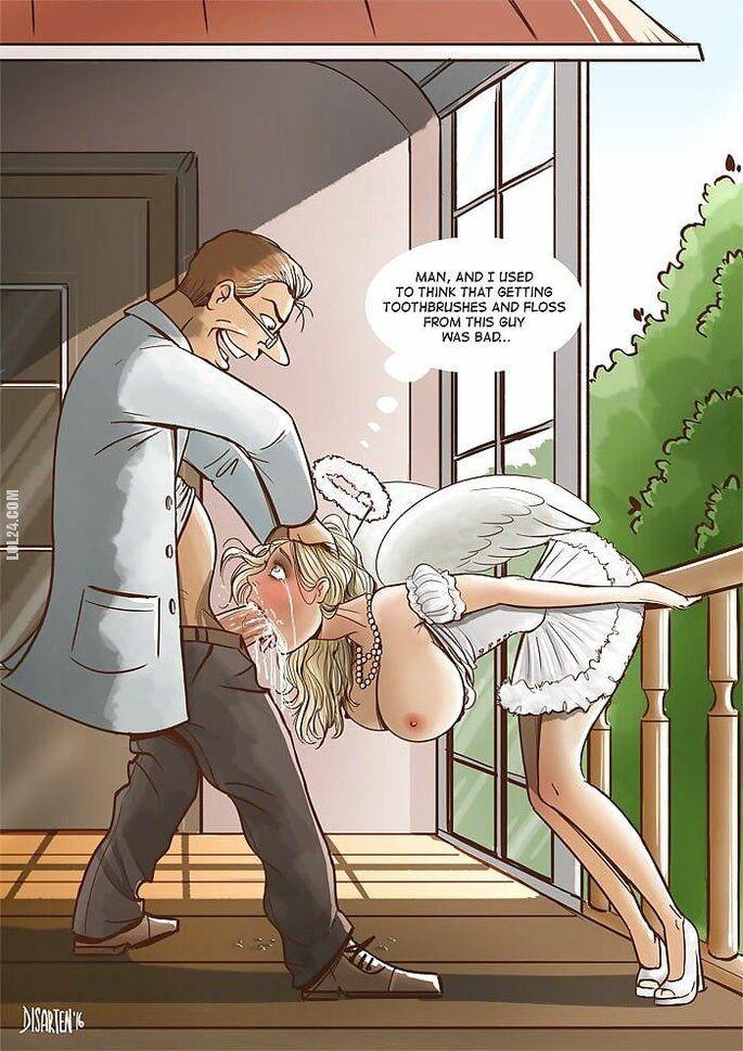 komiks : Upadły aniołek
