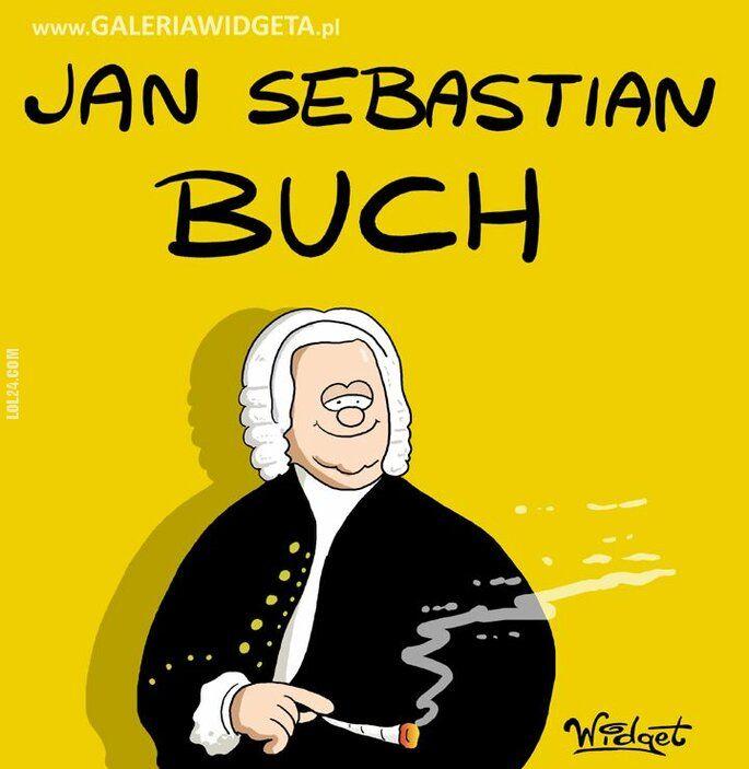 rysunek : Jan Sebastian Buch