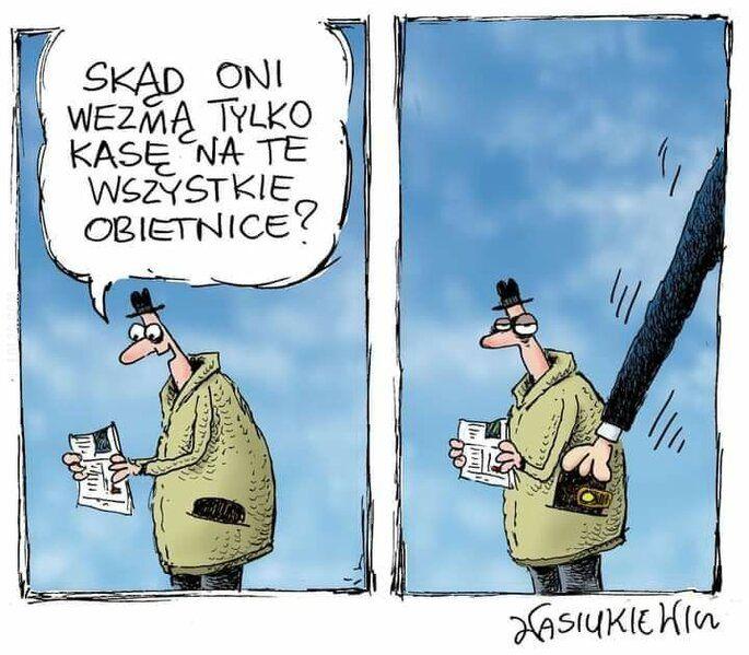 satyra : Nowy Ład PiS