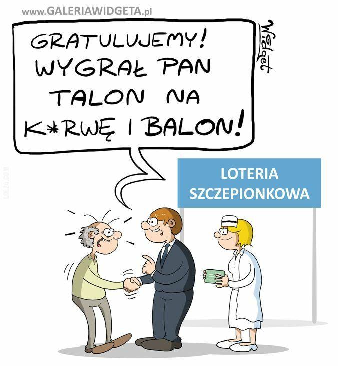 satyra : Loteria szczepionkowa
