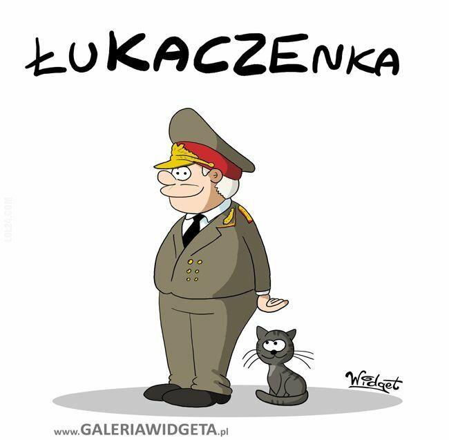 rysunek : Łukaczenka