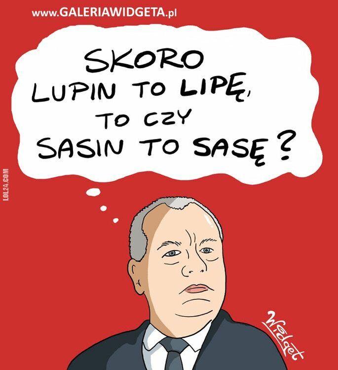polityka : Lupin - Lipę