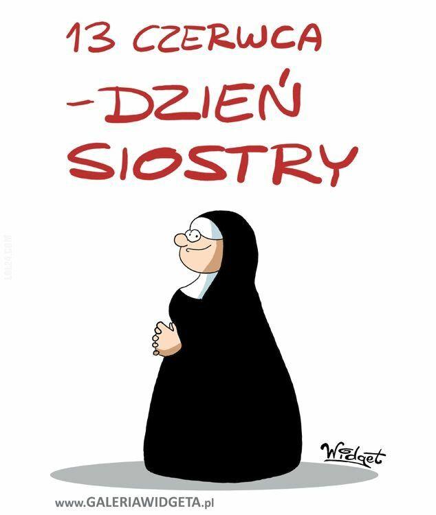 rysunek : Dzień siostry