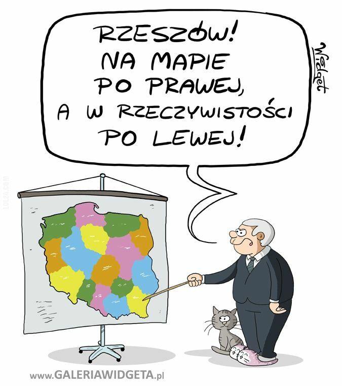 satyra : Rzeszów - lewica