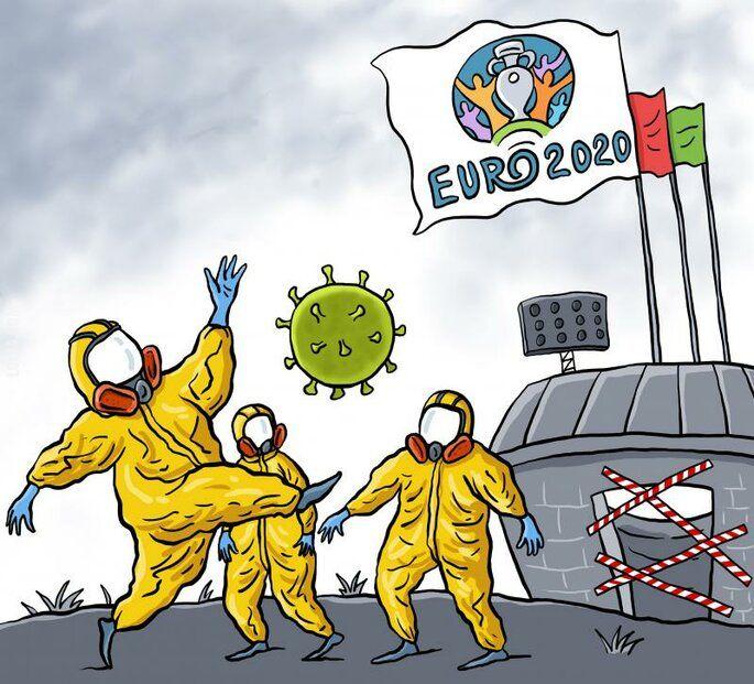 rysunek : Euro 2020
