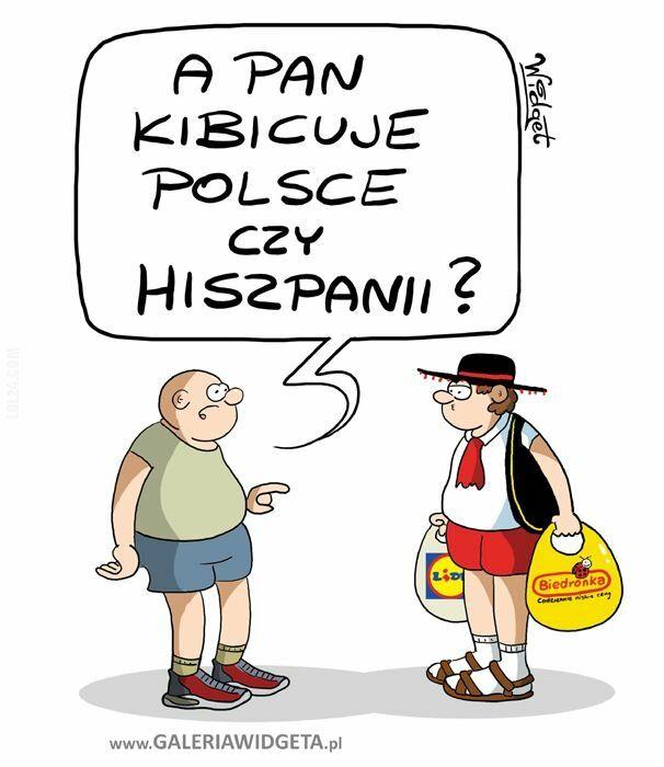 sport : Mecz Polska - Hiszpania