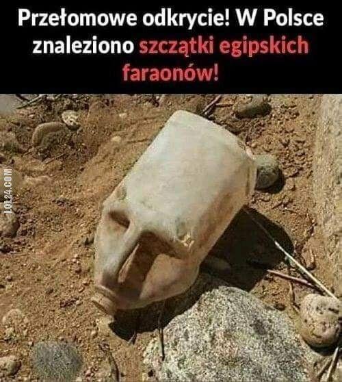 złudzenie : Szczątki egipskich faraonów w Polsce!
