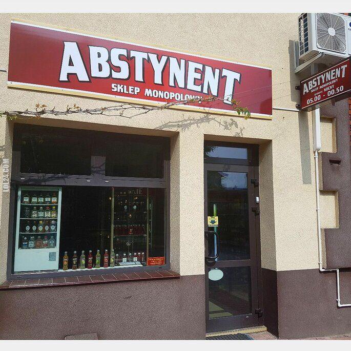 napis, reklama : Jak nazwać sklep monopolowy