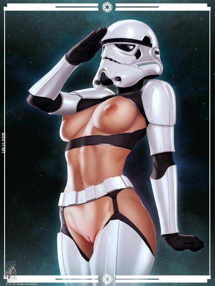 rysunek : Gwiezdne wojny - prawda o szturmowcach