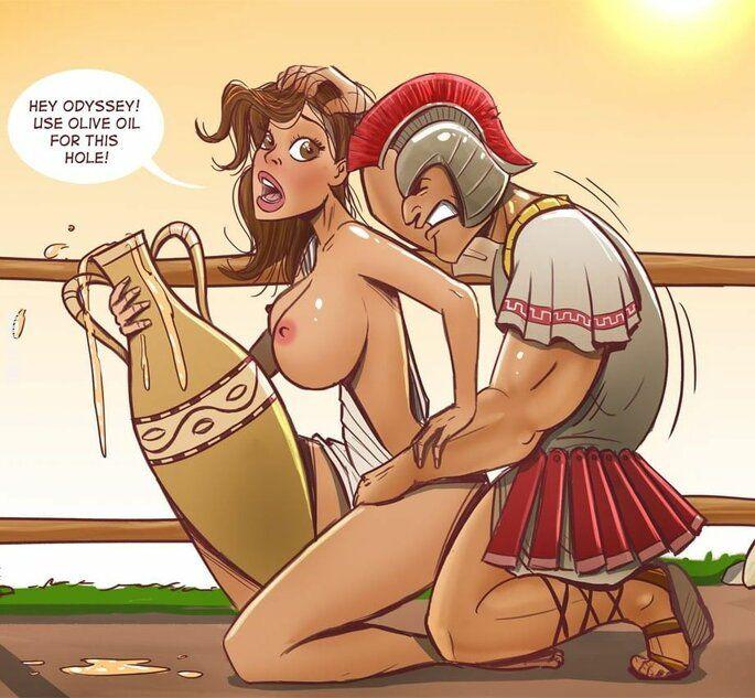 rysunek : Odyseuszu!
