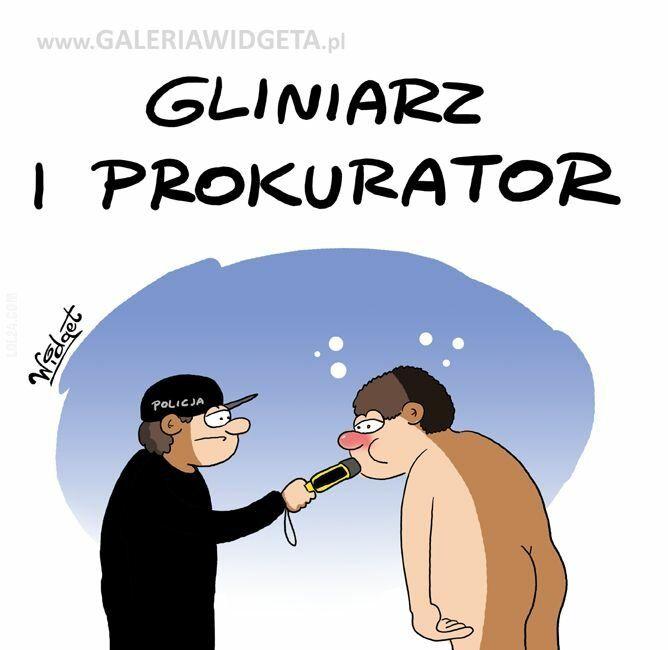 komiks : Gliniarz i prokurator